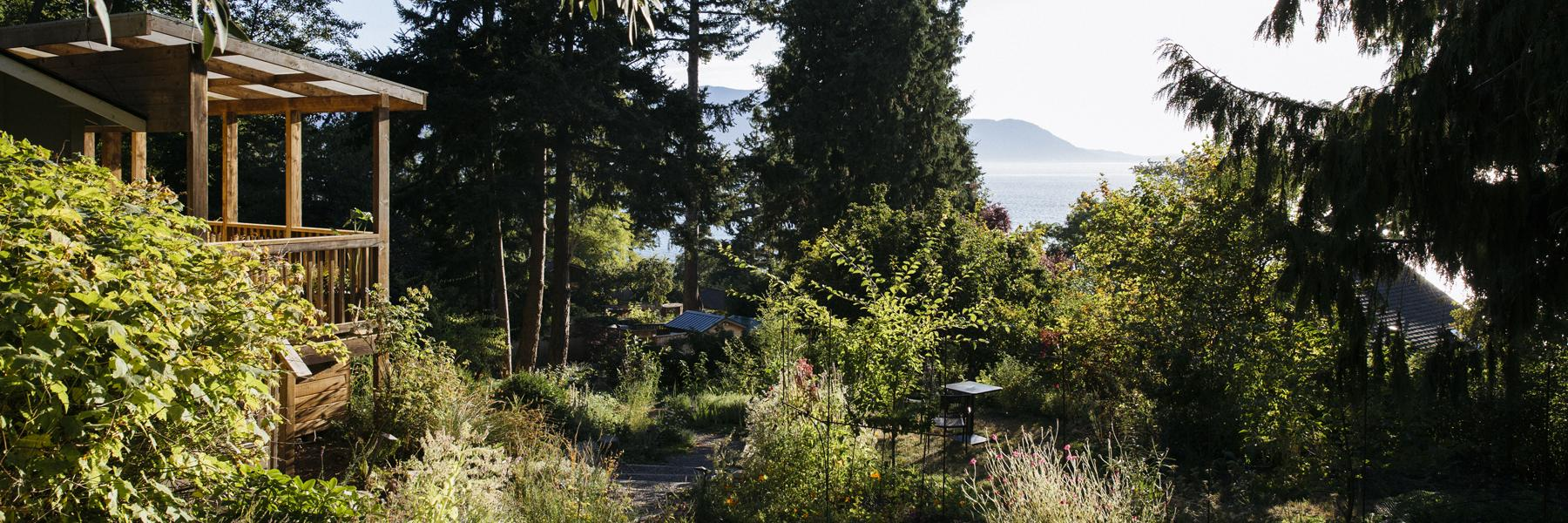 Accommodations at the Willows Inn on Lummi Island