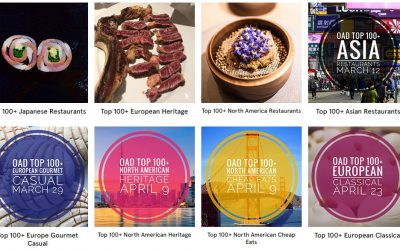 OAD – Top 100+ North American Restaurants 2019