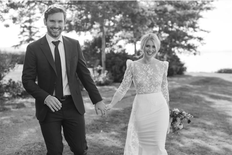Martha Stewart – An Intimate Oceanfront Wedding with Sunset Views in Washington State
